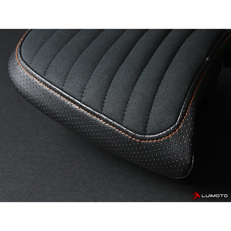 LUIMOTO Passenger Seat Cover for the HARLEY DAVIDSON XR1200 (08-12)