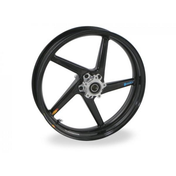 BST Diamond TEK 5 Spoke Carbon Fiber Front Wheel for the Bimota DB5 and DB6 w/ 61mm Brake - 3.5 x 17