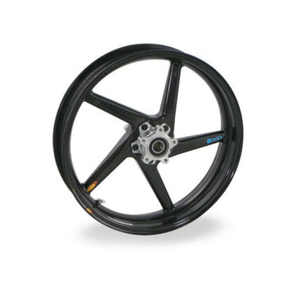 BST Diamond TEK 5 Spoke Carbon Fiber Front Wheel for the Bimota DB4 - 3.5 x 17