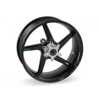 BST Diamond TEK 5 Spoke Carbon Fiber Rear Wheel for the Suzuki GSX-R1000 (01-08) & GSX-R600 (04-05) - 6.0 x 17