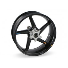 BST Diamond TEK 5 spoke Carbon Fiber Rear Wheel for the Triumph Daytona 675 / 675 R  / Street Triple (13-18) - 5.5  x 17