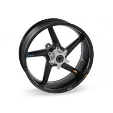 BST Black Diamond 5 Spoke Carbon Fiber Front Wheel for the Ducati Sport Classic - GT1000 / Paul Smart / Sport 1000 - 3.5 x 17