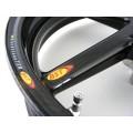 BST Diamond TEK 5 Spoke Carbon Fiber Front Wheel for the Aprilia W/Radial Front Calipers - 3.5 x 17