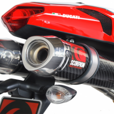 SCORPION FACTORY SLIP ON EXHAUST - DUCATI 1098 (2008-14)