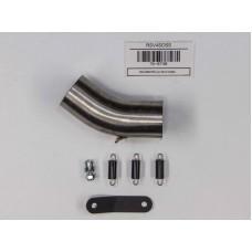 Hindle Exhaust for Aprilia RSV4 (08+) Slipon Adapter with Evolution Titanium Muffler with Black Ceramic Tip
