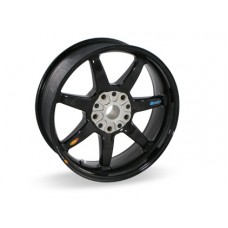 BST Carbon Fiber Rear Wheel for the BMW R 1200 R RS and RS 2014+ (ABS) 6 x 17  7 Spoke Straight