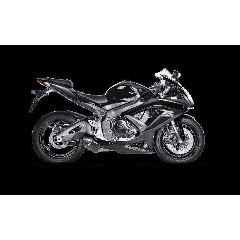 Akrapovic Shorty Exhaust System Suzuki GSXR 600 2008-2010