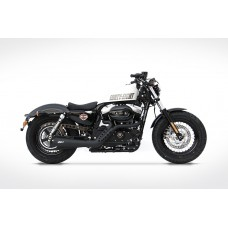 ZARD 'JOKER' 2-1 Full Exhaust for Harley Davidson Sportster (2014+)