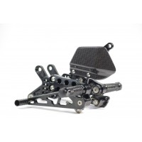 Gilles Tooling AS31GT Rearsets for the Kawasaki ZX-10R (2004-2005)