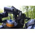WOODCRAFT Yamaha FZ-09 (MT09) '14+/XSR900 '16 Clipon Riser Adapter Plate Kit W/ Bars