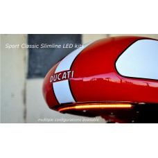 Motobox Slimline Integrated Taillight kit for Ducati Sport Classic Models