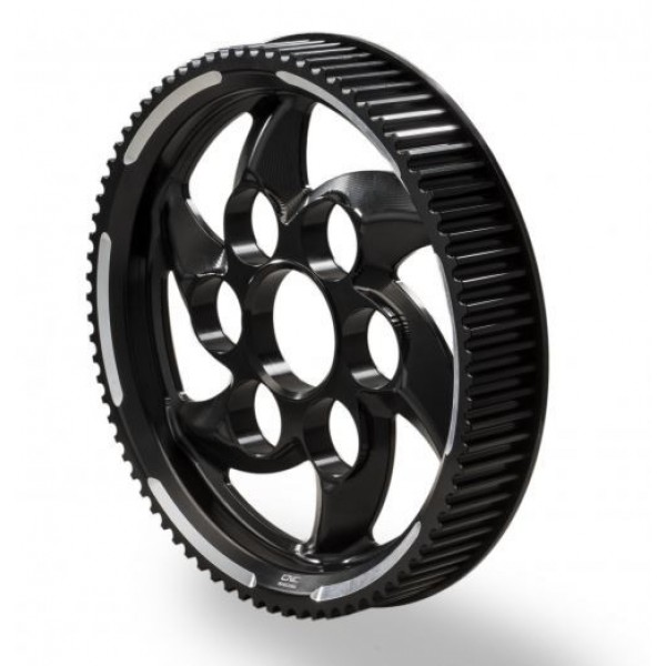 CNC Racing Billet Rear Pulley for the Ducati XDiavel