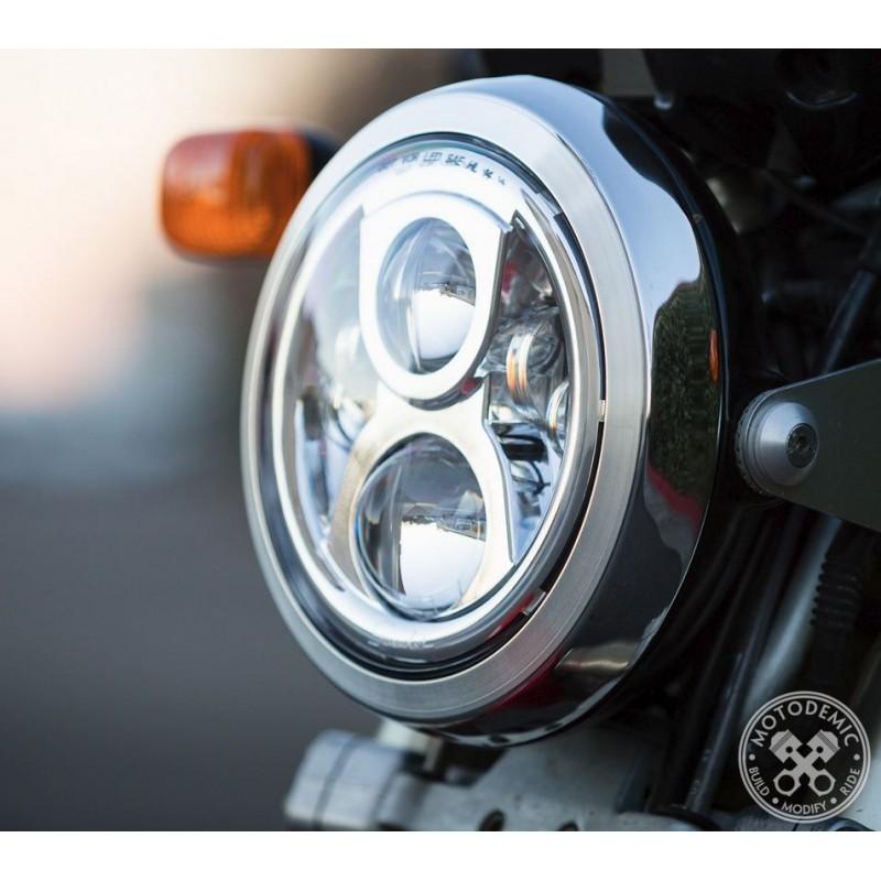 Motodemic Led Headlight Conversion Kit For The Ducati Monster 93 08