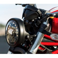 Motodemic LED and Round Halogen Headlight Conversion Kit for the Ducati Monster 1200 and 821