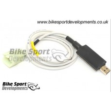 BSD USB cable + WinBLIP software for Blip Box for Kawasaki ZX10 2016+