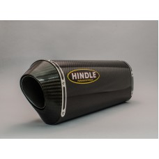 Hindle Exhaust for  Suzuki GSXR1000 (09-11) Slipon Adapter with Evolution Carbon Fiber Muffler w/ Carbon Tip