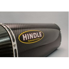 Hindle Exhaust for BMW S1000RR (09-14) Slipon Adapter with Evolution Carbon Muffler / Carbon Tip
