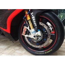 Rotobox Carbon Fiber Front Wheel for the Aprilia RSV4 (2009+) and Tuono V4 (2010+)