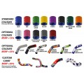 SamcoSport 8 Piece Silicone Coolant Hose Set For Ducati Panigale V4 / S / R / Speciale