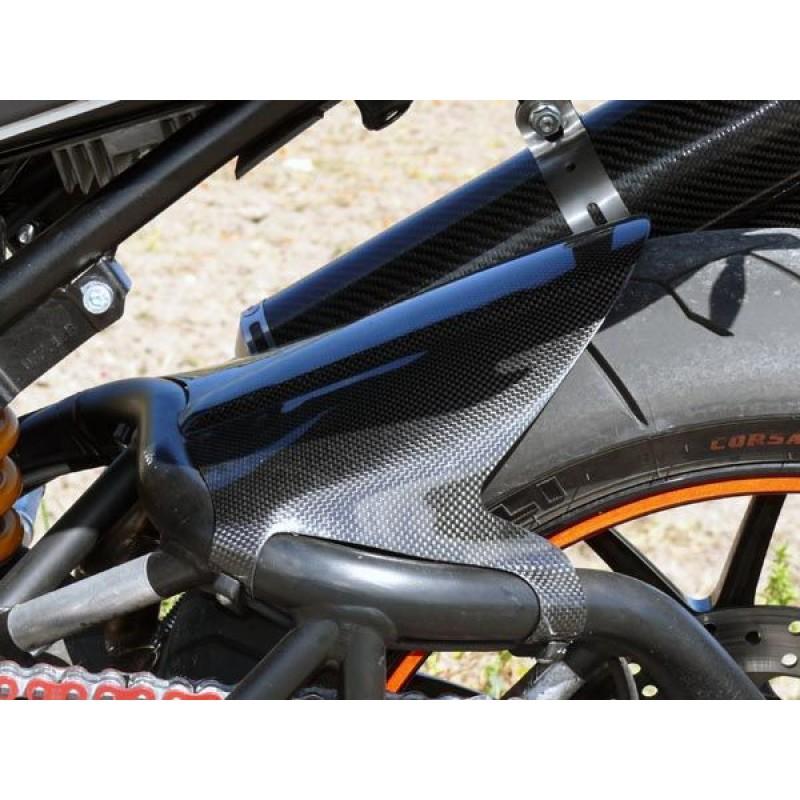 Carbonvani Ducati Monster Carbon Fibre Rear Mudguard For S2r S4r S