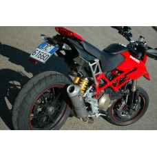 QD Exhaust Complete System - Ducati HYPERMOTARD 1100 (2007-09)