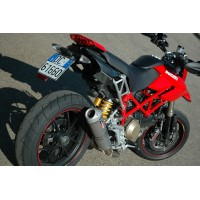 QD Exhaust Complete System - Ducati HYPERMOTARD 1100 EVO (2010-12)