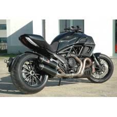 QD Exhaust 2 in 1 in 2 Slip-on - Ducati Diavel (2011>)