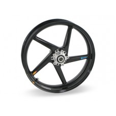 BST 5 spoke Carbon Fiber Wheel for the Ducati Monster Models 3.5 x 17 Desmosedici (08)  749/999(03-07) S4R(07-08)  S4RS(06-07)  (Front)