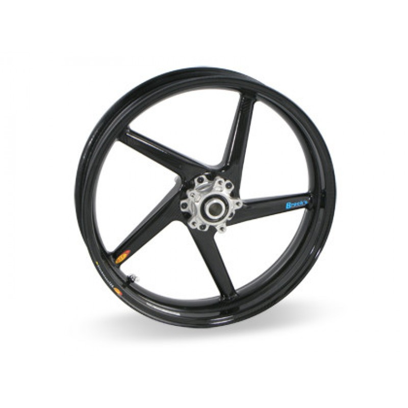 Bst 5 Spoke Carbon Fiber Wheel For The Ducati Monster Models 3 5 X