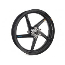 BST Diamond TEK 5 Spoke Carbon Fiber R SERIES Front Wheel for the Kawasaki ZX-10R (11-15) and ZX-14 / 14R and 2009 ZRX1200 - 3.5 x 17