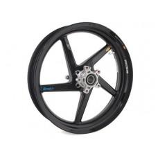 BST Diamond TEK 5 Spoke Carbon Fiber Front Wheel for the Suzuki GSX-R1000 (05-08) - R Series - 3.5 x 17