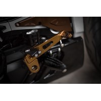 AEM FACTORY - Adjustable Billet Control Lever kit 'XCOMMAND' For Ducati XDiavel