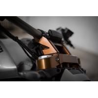AEM Factory - Billet Handelbar Riser and Clamp kit for the XDiavel
