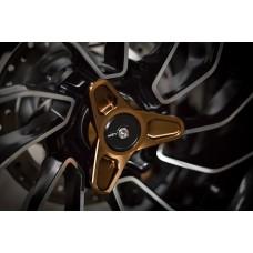 AEM Factory - Billet 'GALLETTONE' Rear Axle Slider for the Diavel & XDiavel
