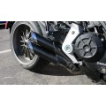 QD Exhaust 2-2 'TWIN MONKEY' Slash Cut Exhaust System for Ducati XDiavel