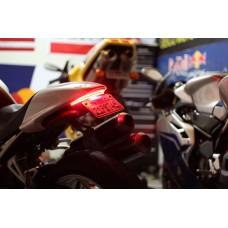 Motobox - Radiantz Dual Row Slimline LED Integrated Taillight for the Ducati Monster (02-07)