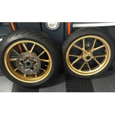 Used - Marchesini Forged Aluminum Wheels for Ducati 749/999