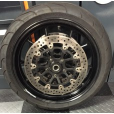 Used - Front Wheel with Rotors and Tire for Ducati 848