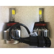 Motobox H11 LED HeadLight Light Bulb Set (pair)