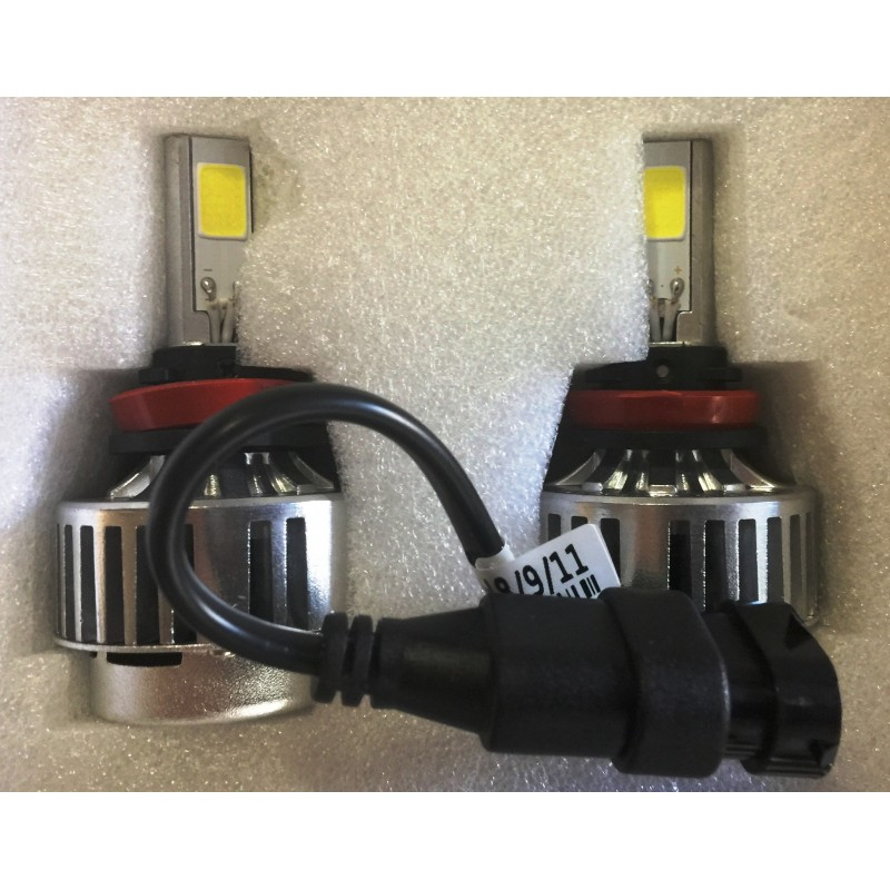 H7 Led Bulb Z1000: Motobox H7 LED HeadLight Light Bulb Set (pair