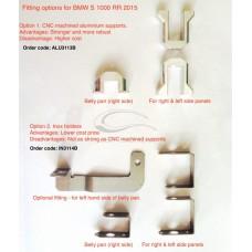 CARBONIN CNC FAIRING BRACKETS FOR FOR BMW S1000RR (2015-16)