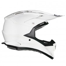 Suomy Alpha MX Helmet PLAIN WHITE (Special Order)
