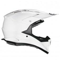 Suomy Alpha MX Helmet PLAIN WHITE (Special Order)