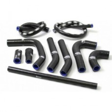 SamcoSport 10 Piece Full Silicone Coolant Hose Set For KTM 660 Rallye (2003-6)