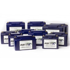 EarthX Lithium Motorcycle and Powersports Batteries
