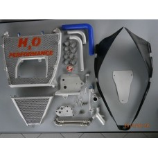 Galletto Radiatori (H2O Performance) Oversized Radiator and Oil Cooler kit For Ducati 899  959  1199 & 1299 Panigale