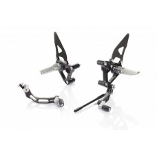 CNC Racing Adjustable Rearsets for Ducati 1198/1098/848