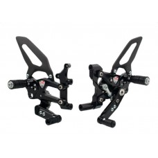 CNC Racing RPS Adjustable Rearset for the Ducati Panigale 899/959/1199/1299