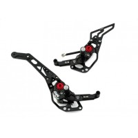 CNC Racing Adjustable Rearsets For Ducati Hyper 821 and 939