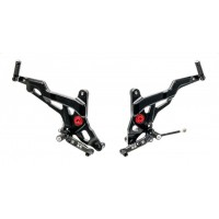 CNC Racing SPORT Adjustable Rearsets for Ducati Monster 1200 and 821
